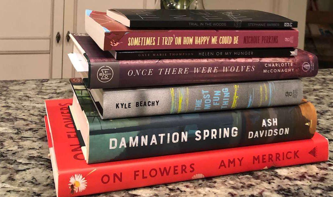 Adam's Recent Book Pile